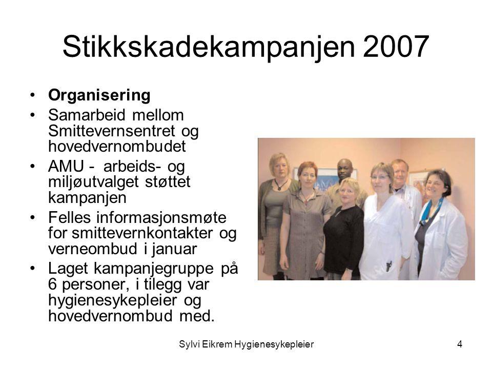 Sylvi Eikrem Hygienesykepleier