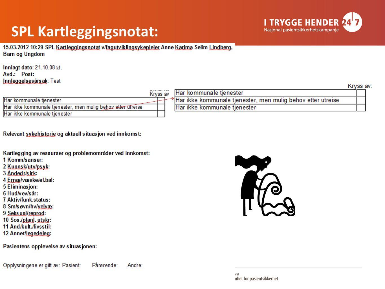 SPL Kartleggingsnotat: