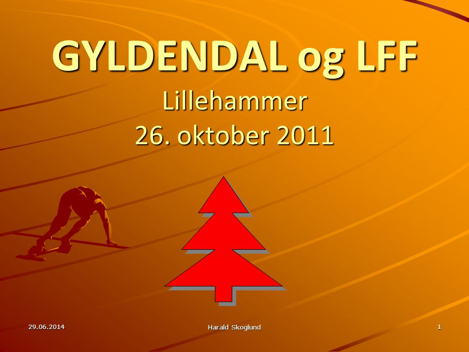GYLDENDAL og LFF Lillehammer 26. oktober 2011