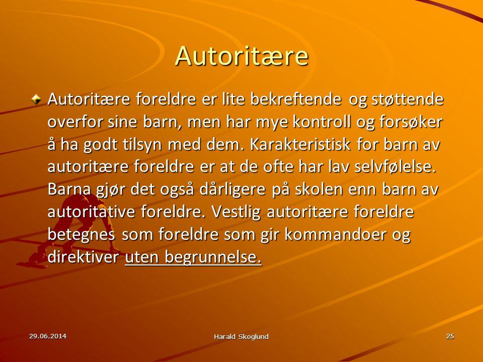 Autoritære