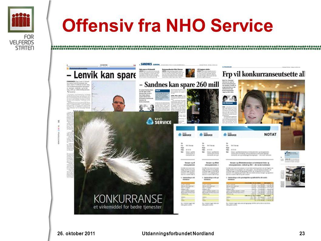 Offensiv fra NHO Service