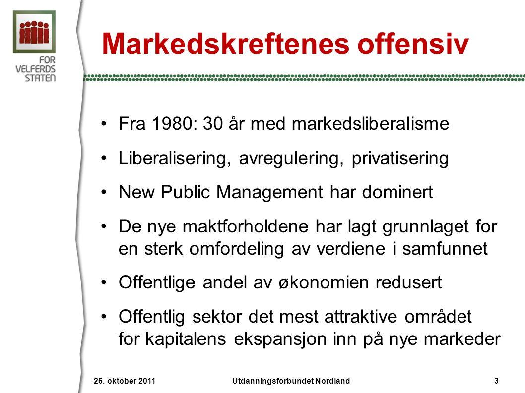 Markedskreftenes offensiv