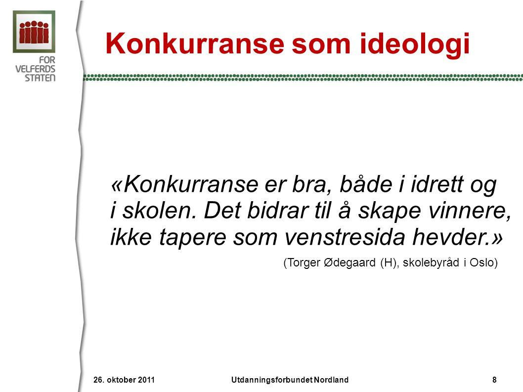 Konkurranse som ideologi