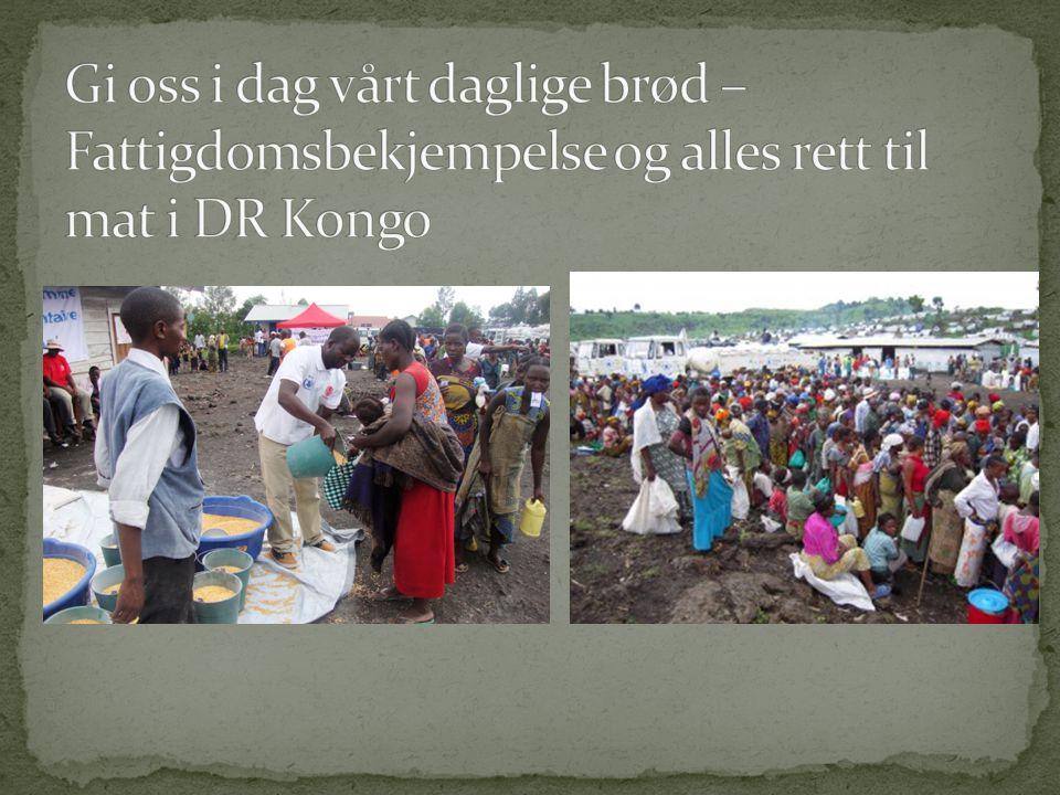 Gi oss i dag vårt daglige brød – Fattigdomsbekjempelse og alles rett til mat i DR Kongo