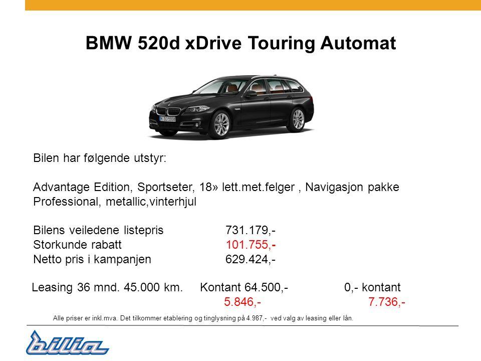 BMW 520d xDrive Touring Automat