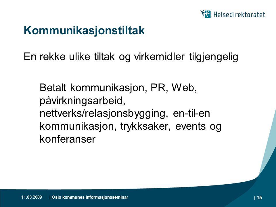 Kommunikasjonstiltak