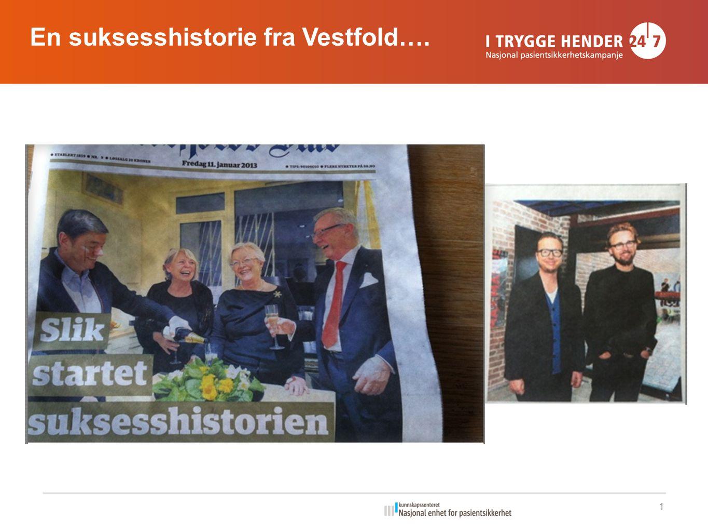 En suksesshistorie fra Vestfold….