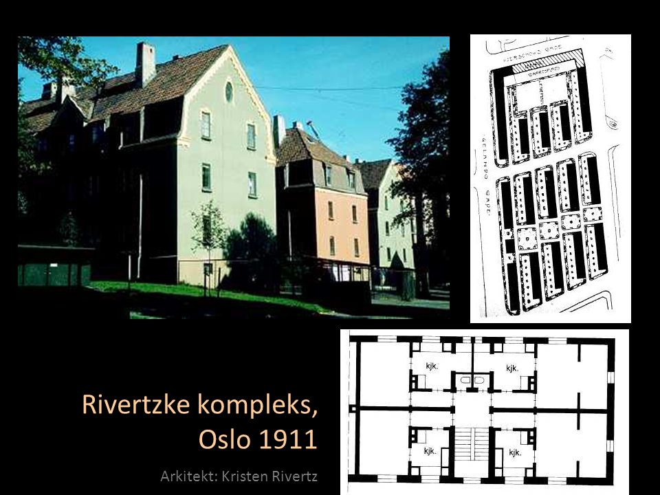 Rivertzke kompleks, Oslo 1911