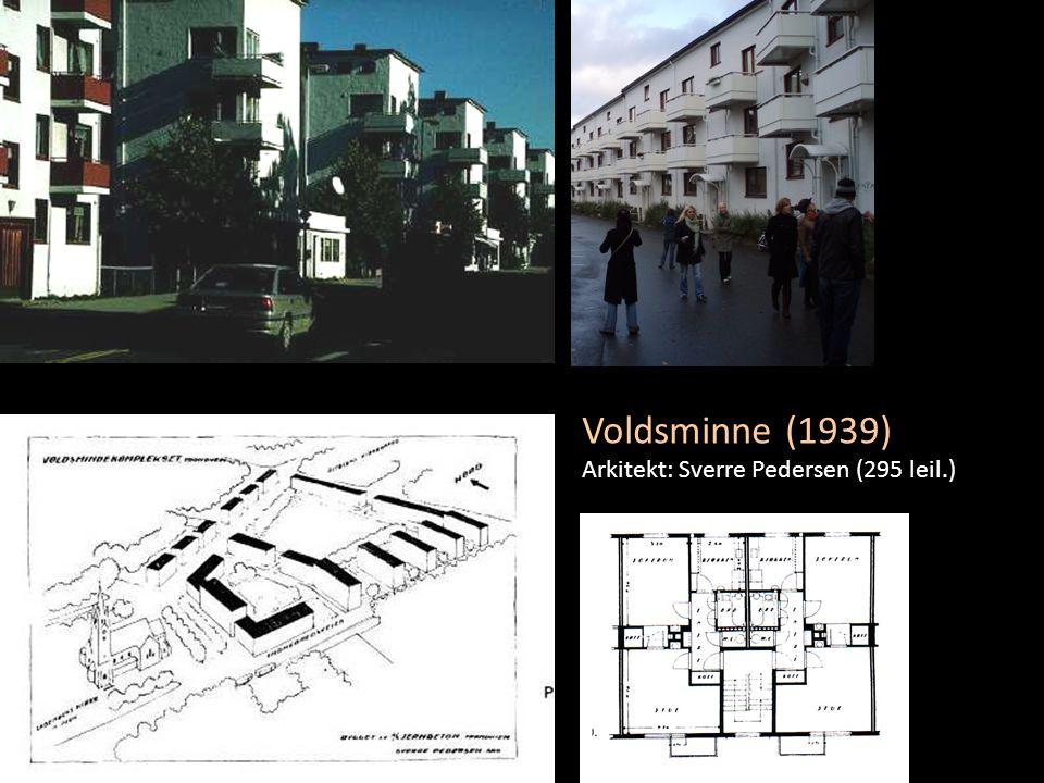 Voldsminne (1939) Arkitekt: Sverre Pedersen (295 leil.)