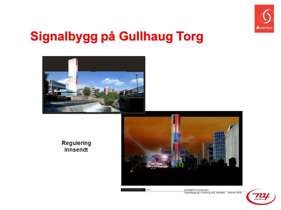 Signalbygg på Gullhaug Torg