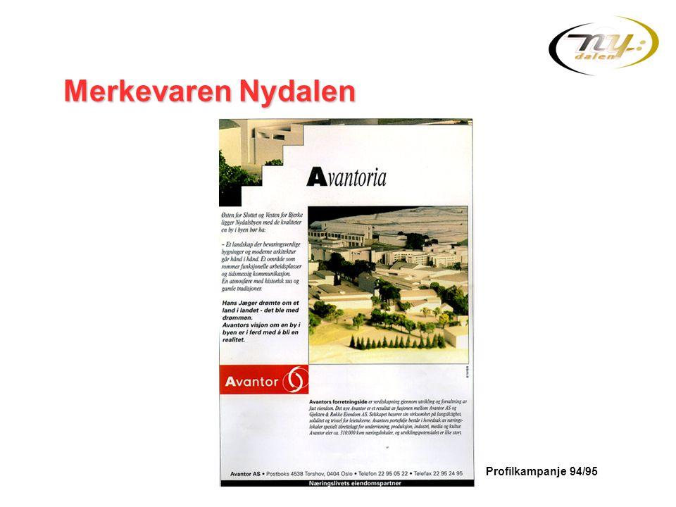 Merkevaren Nydalen Avantoria vår visjon er å skape en by i byen