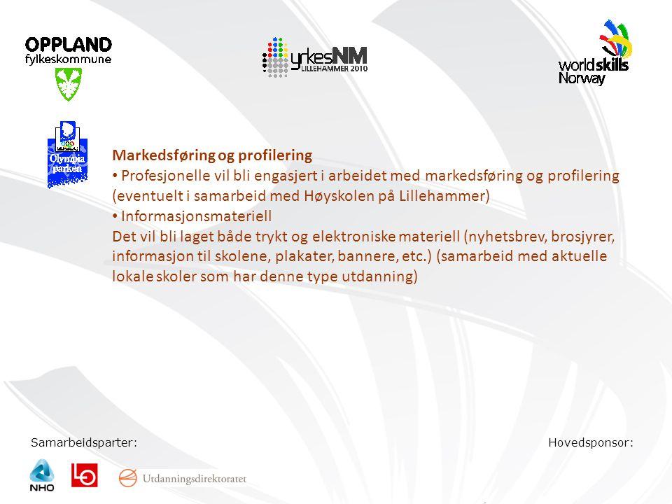 Markedsføring og profilering