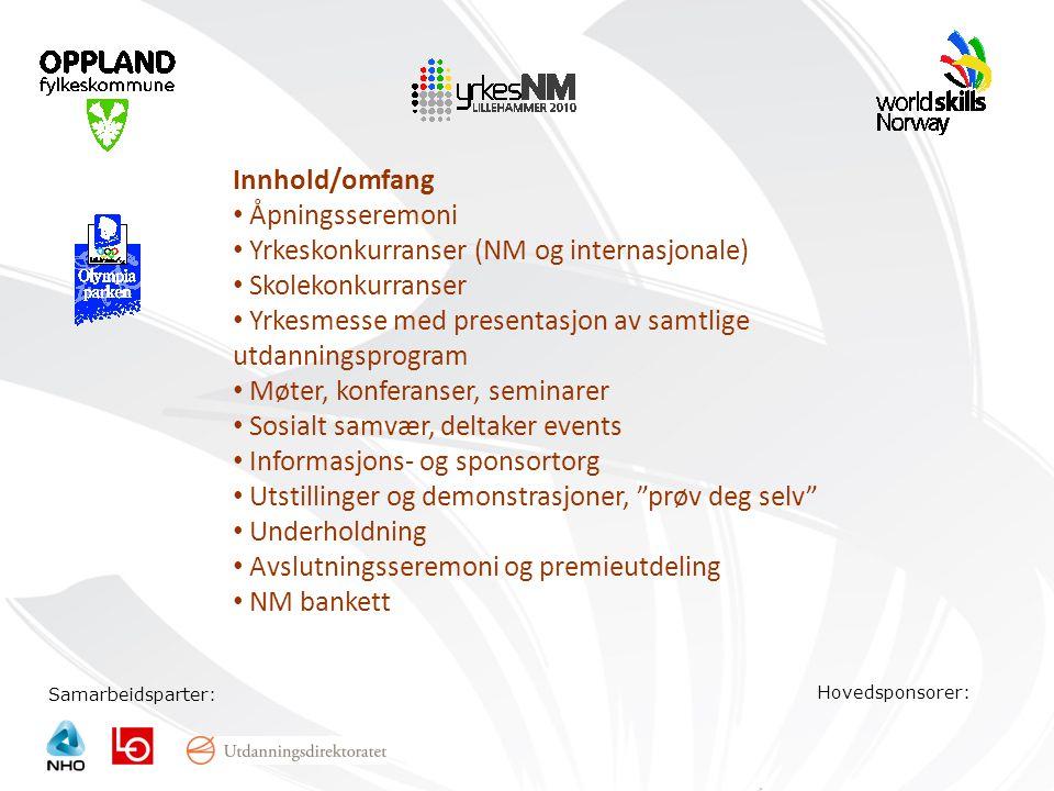 Yrkeskonkurranser (NM og internasjonale) Skolekonkurranser