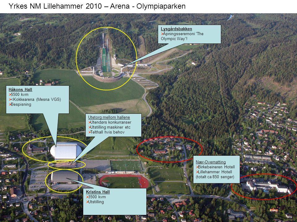 Yrkes NM Lillehammer 2010 – Arena - Olympiaparken