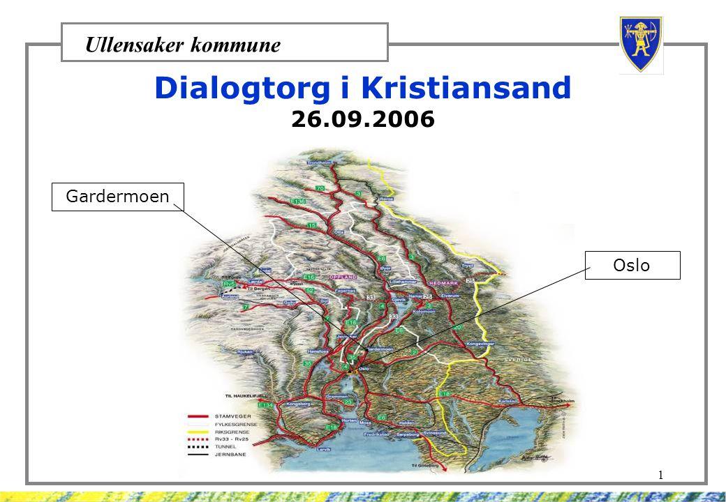 Dialogtorg i Kristiansand
