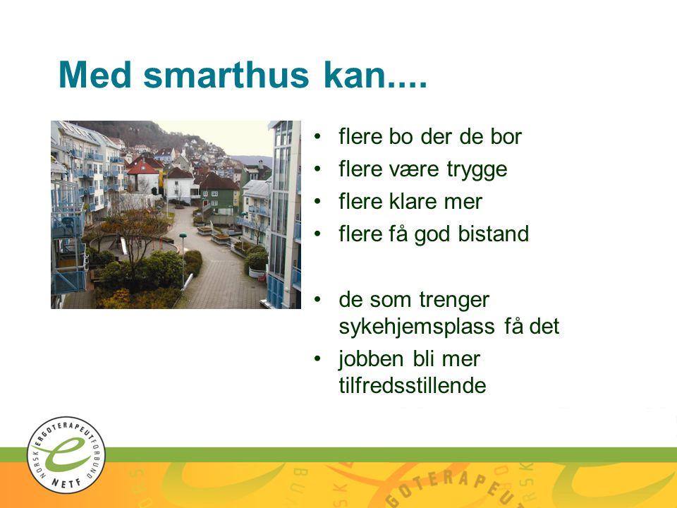 Med smarthus kan.... flere bo der de bor flere være trygge