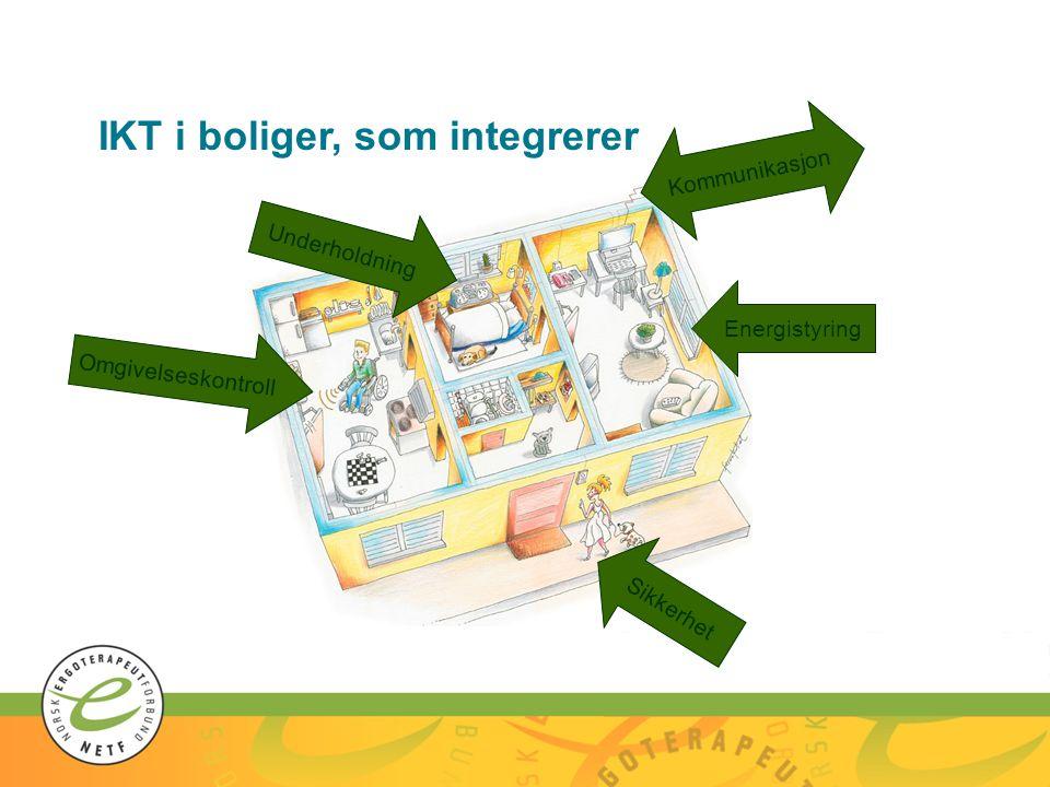 IKT i boliger, som integrerer