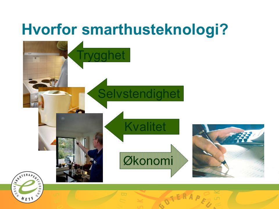 Hvorfor smarthusteknologi
