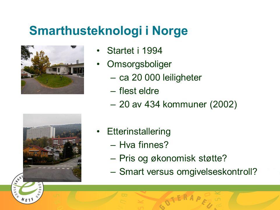 Smarthusteknologi i Norge