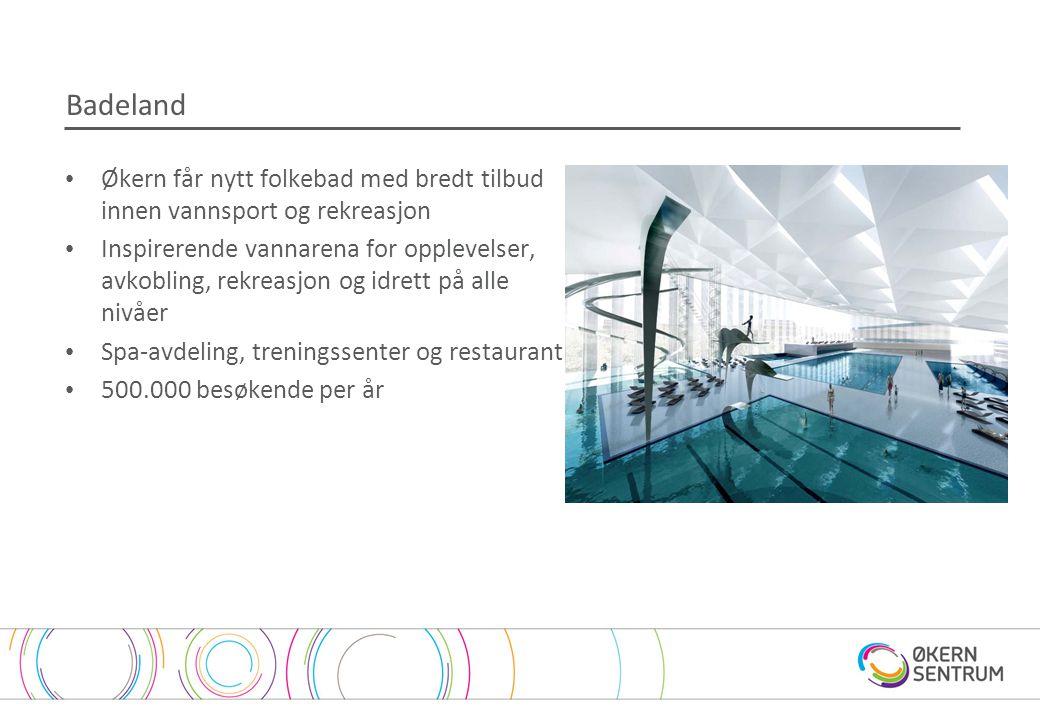 Badeland Økern får nytt folkebad med bredt tilbud innen vannsport og rekreasjon.