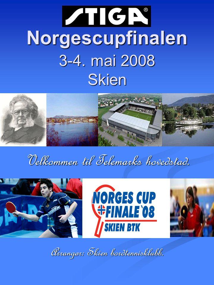 Norgescupfinalen 3-4. mai 2008 Skien