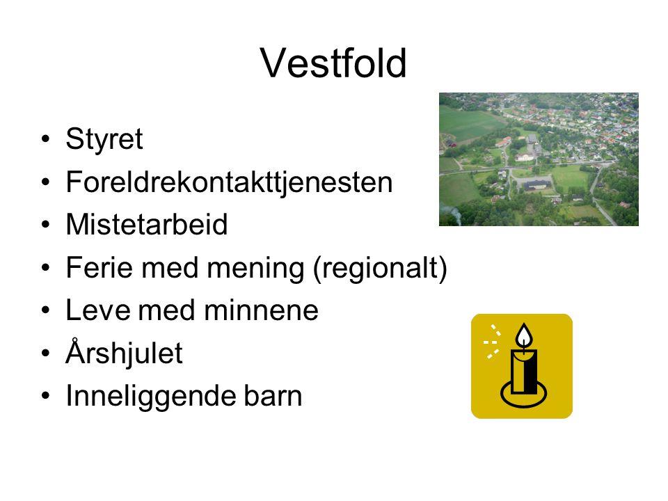 Vestfold Styret Foreldrekontakttjenesten Mistetarbeid