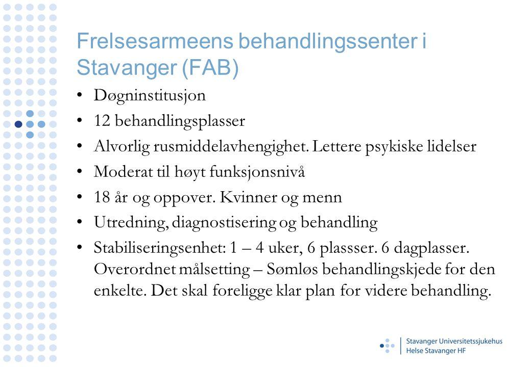 Frelsesarmeens behandlingssenter i Stavanger (FAB)