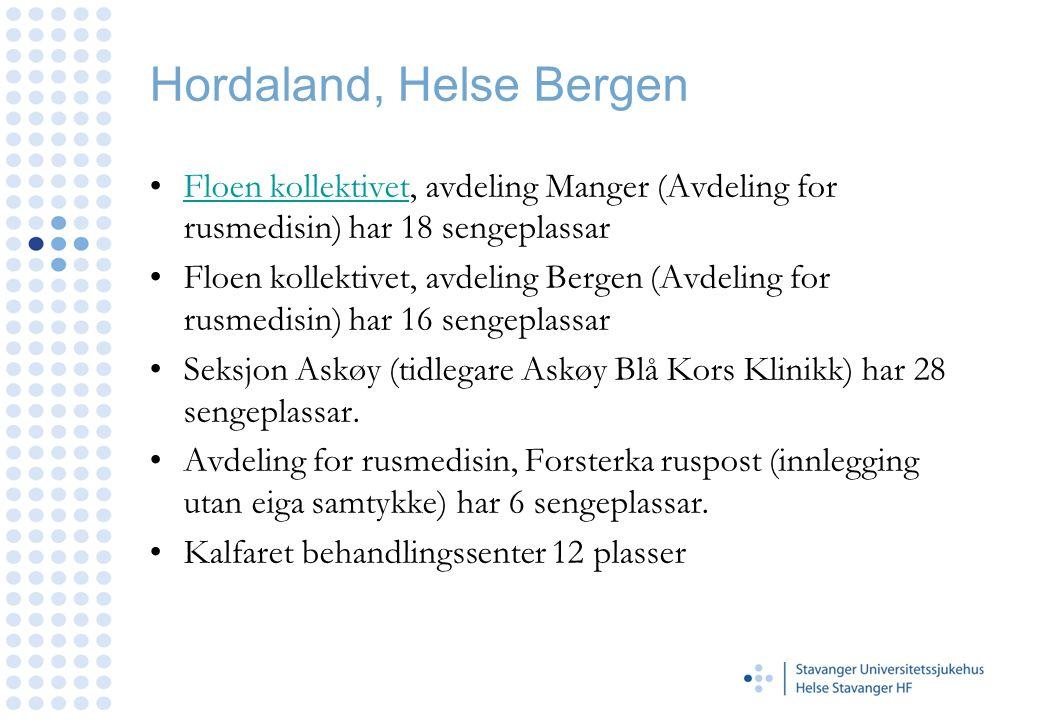 Hordaland, Helse Bergen