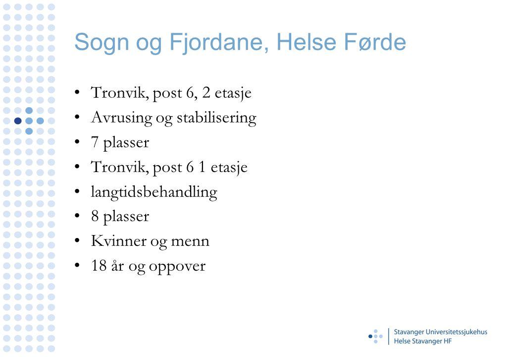 Sogn og Fjordane, Helse Førde