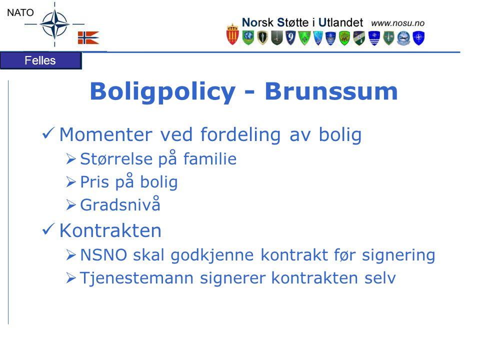 Boligpolicy - Brunssum