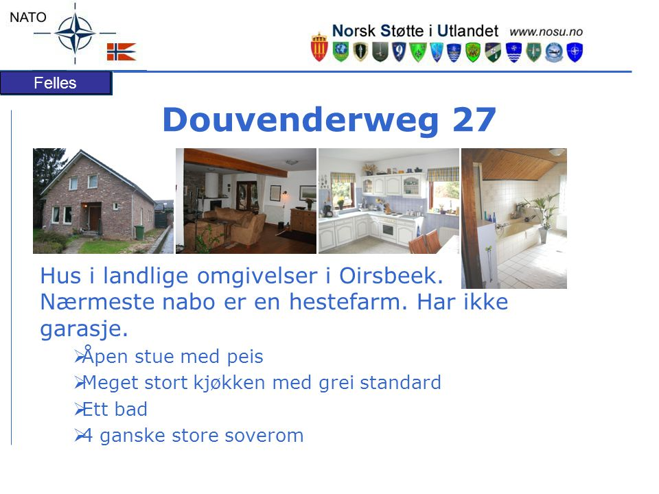 Douvenderweg 27 Hus i landlige omgivelser i Oirsbeek. Nærmeste nabo er en hestefarm. Har ikke garasje.