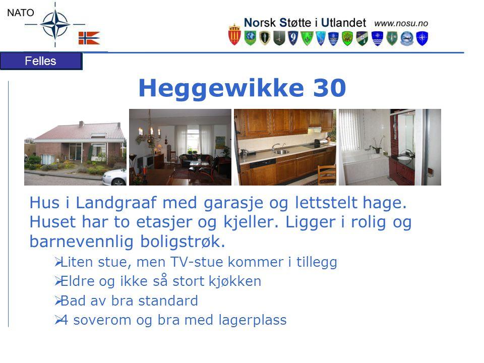 Heggewikke 30 Hus i Landgraaf med garasje og lettstelt hage. Huset har to etasjer og kjeller. Ligger i rolig og barnevennlig boligstrøk.