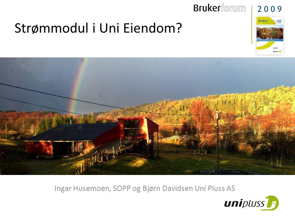 Strømmodul i Uni Eiendom
