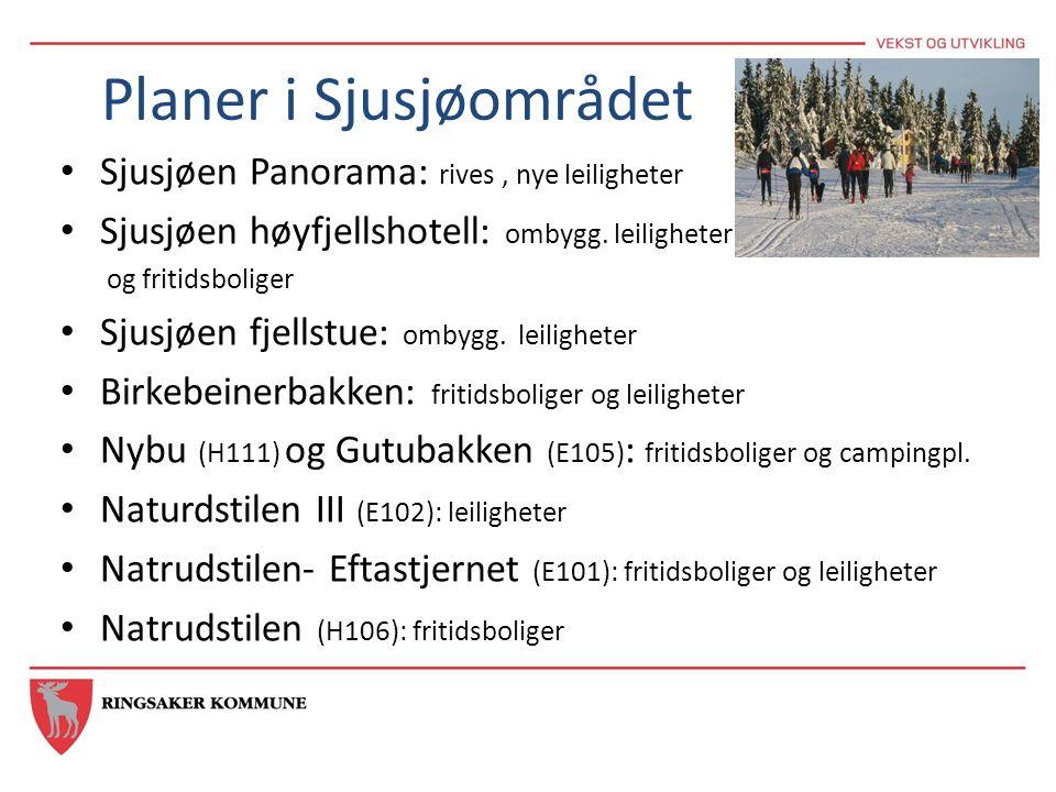 Planer i Sjusjøområdet