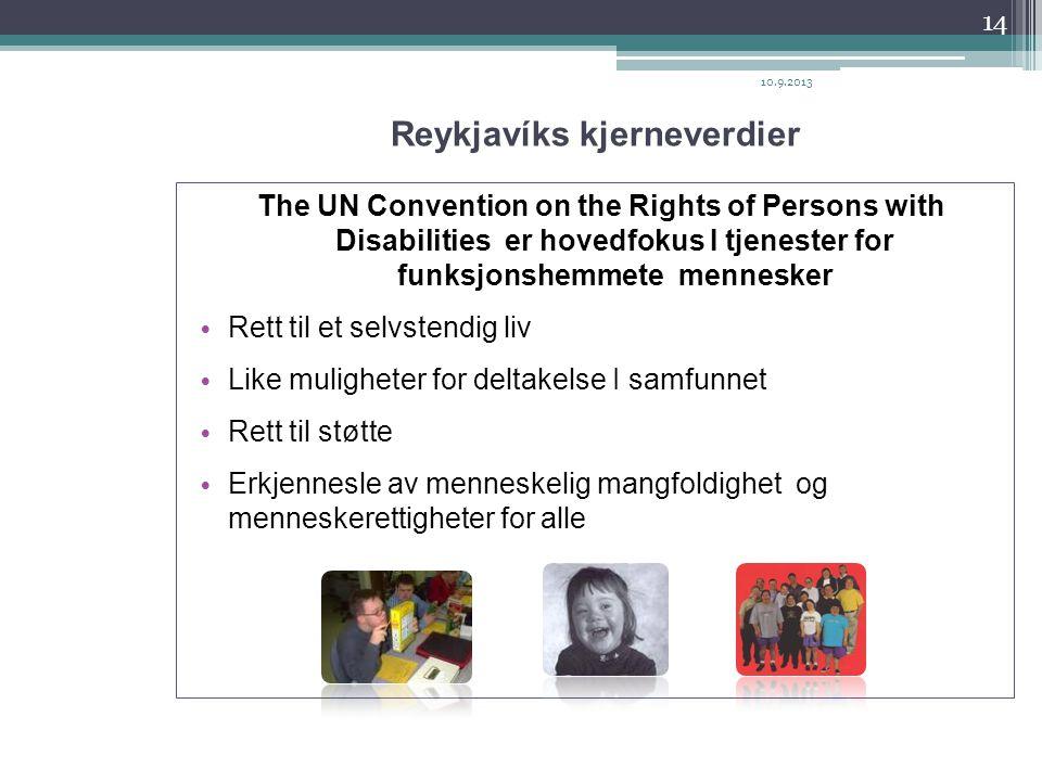 Reykjavíks kjerneverdier