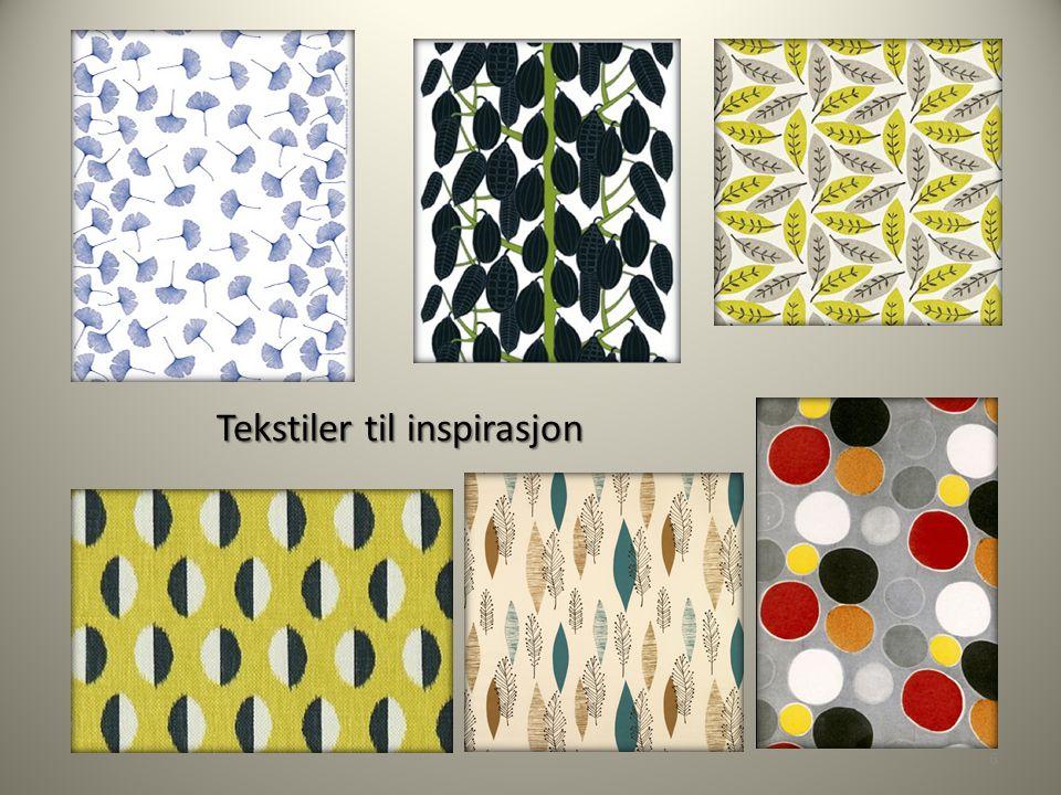 Tekstiler til inspirasjon