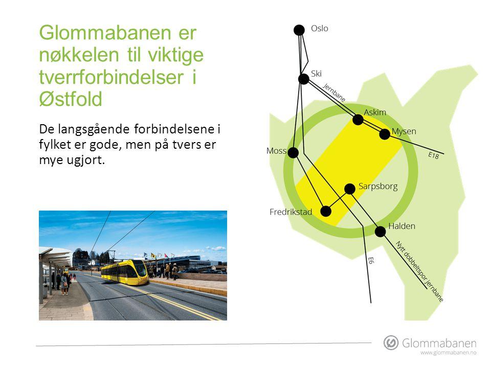 Glommabanen er nøkkelen til viktige tverrforbindelser i Østfold