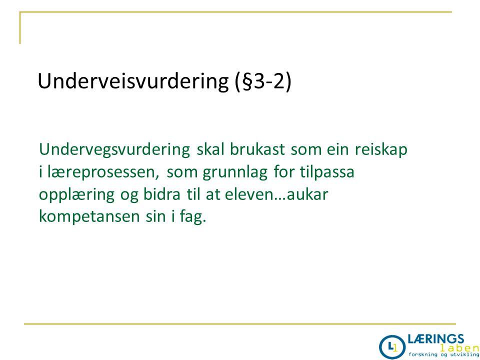 Underveisvurdering (§3-2)