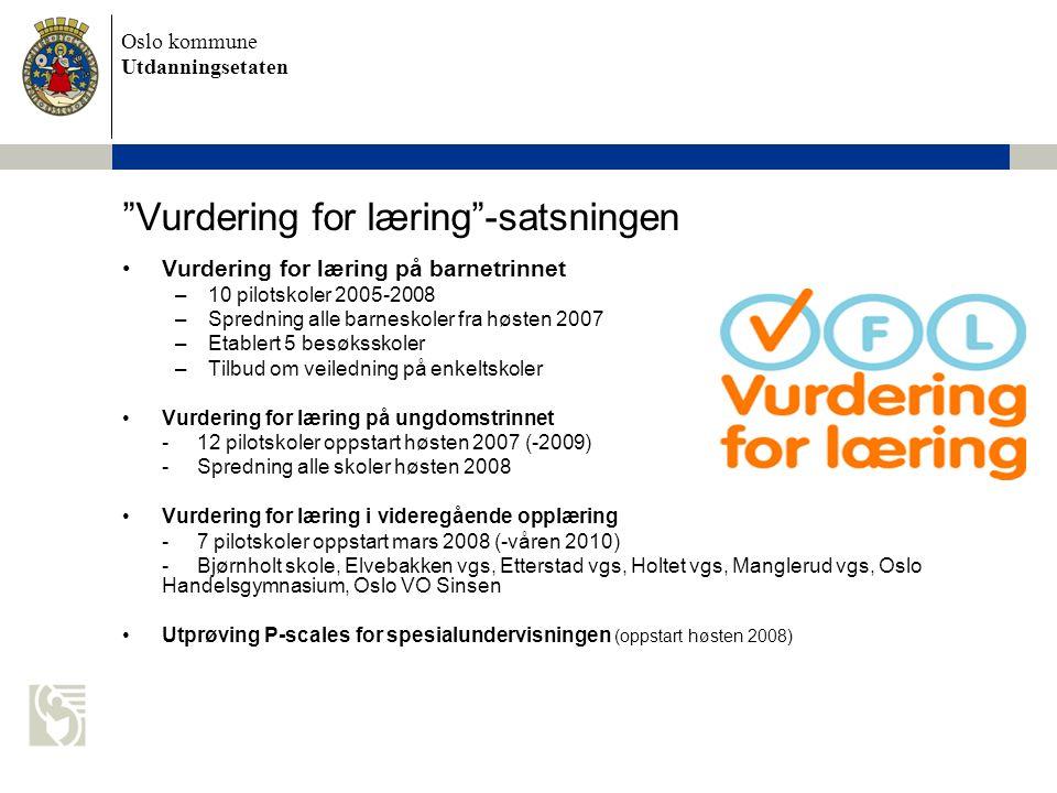 Vurdering for læring -satsningen