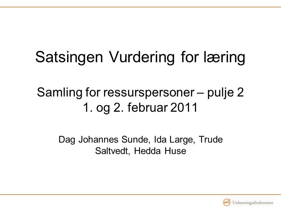 Dag Johannes Sunde, Ida Large, Trude Saltvedt, Hedda Huse