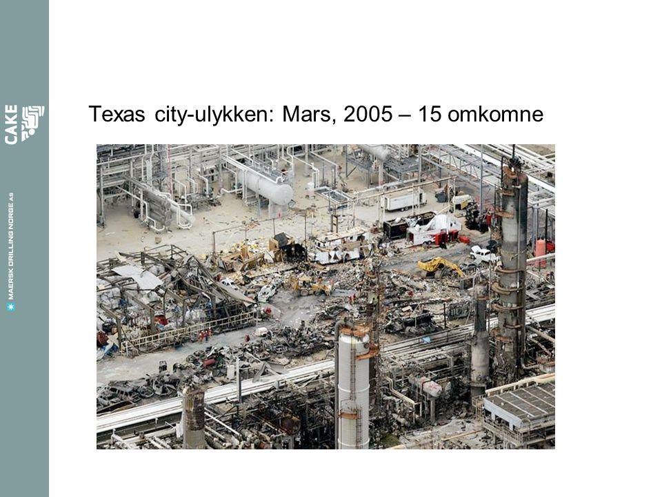 Texas city-ulykken: Mars, 2005 – 15 omkomne