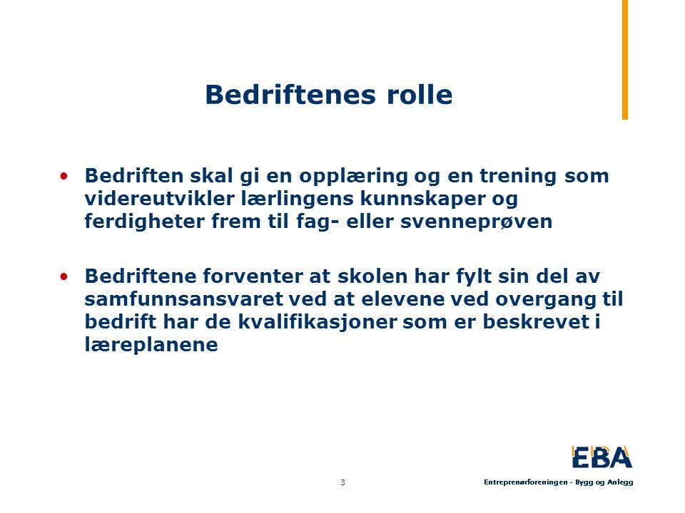 Bedriftenes rolle