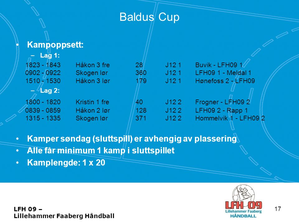 Baldus Cup Kampoppsett: