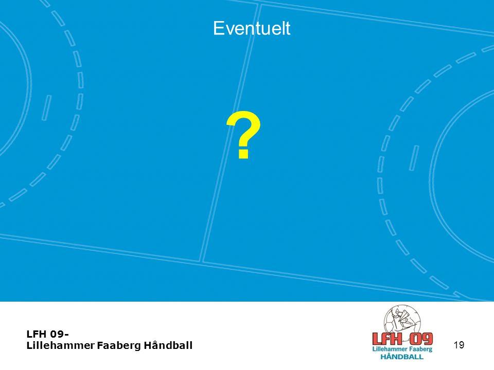 LFH 09- Lillehammer Faaberg Håndball