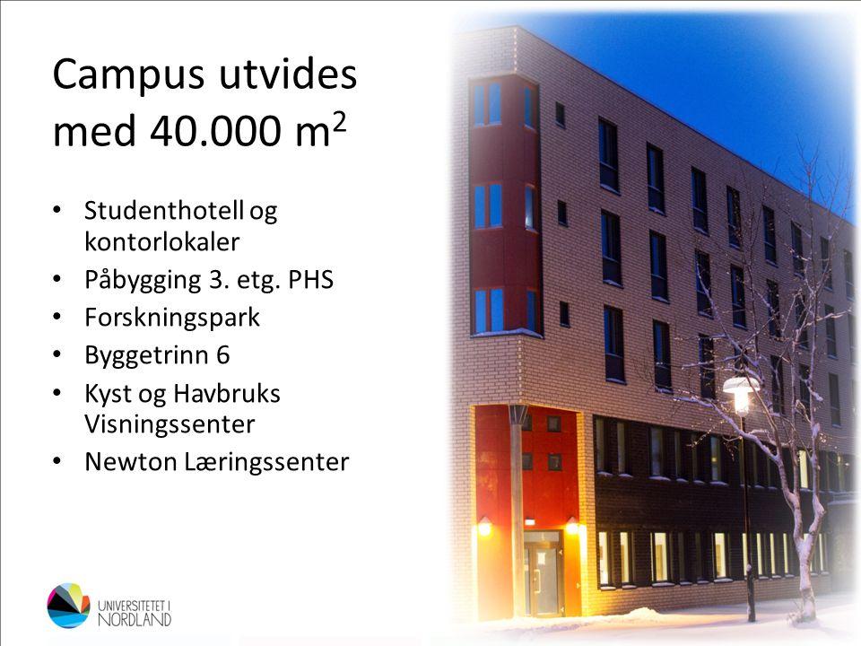 Campus utvides med 40.000 m2 Studenthotell og kontorlokaler