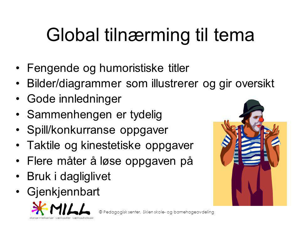 Global tilnærming til tema