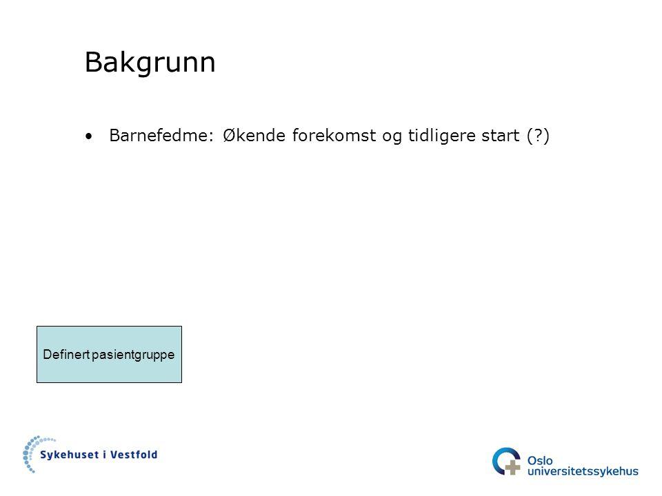 Definert pasientgruppe