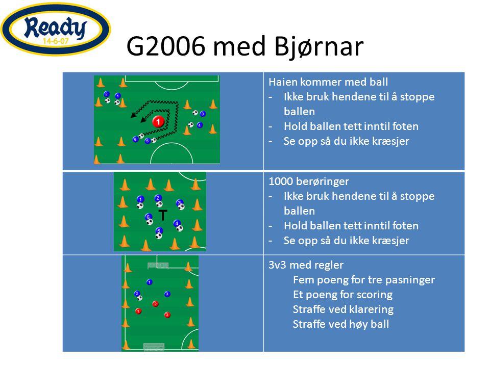 G2006 med Bjørnar Haien kommer med ball