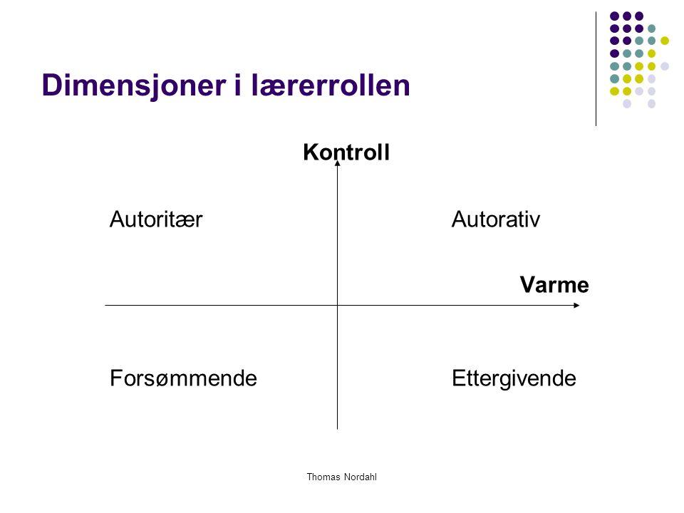 Dimensjoner i lærerrollen