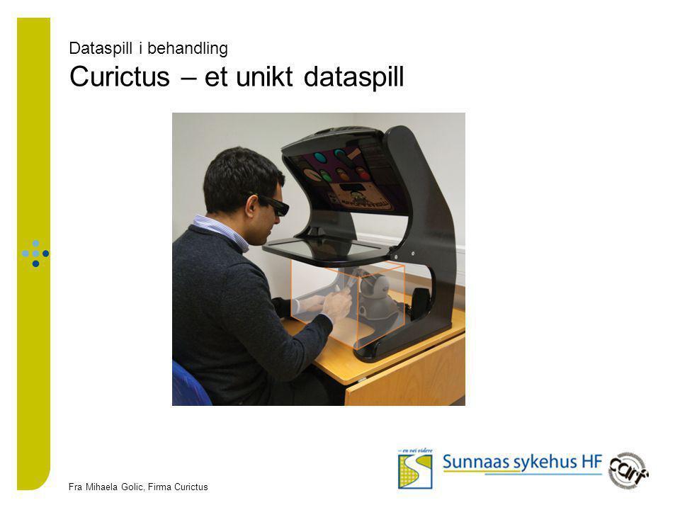 Dataspill i behandling Curictus – et unikt dataspill